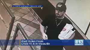 Vacaville Police Looking For iPad thief [Video]