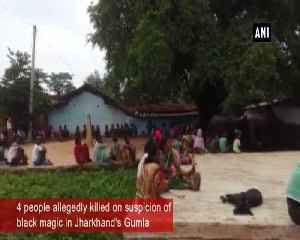 Four people allegedly killed on suspicion of black magic in Jharkhand's Gumla [Video]