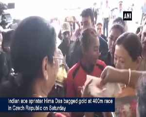 I hope Hima Das continues her good performance in Olympics 2020 says her coach [Video]