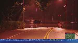 One Vehicle Trapped In Highland Park Flooding [Video]