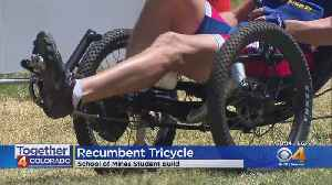 Students From Colorado School Of Mines Help Adaptive Athlete [Video]
