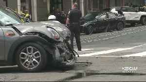 Man Dead After Speeding Driver Runs Red Light, Crashes Into Tourists At S.F. Intersection [Video]