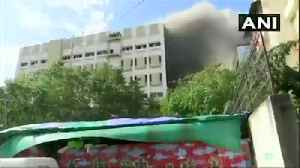 News video: Fire at MTNL building in Mumbai, many feared trapped