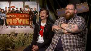 'Horrible Histories: The Movie - Rotten Romans': Exclusive Interview With Nick Frost & Sebastian Croft [Video]