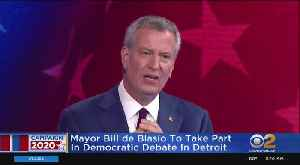 Mayor De Blasio Makes Next Round Of Debates [Video]