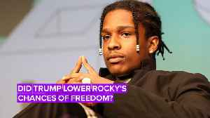 Trump fails to get A$AP Rocky out of Swedish jail [Video]