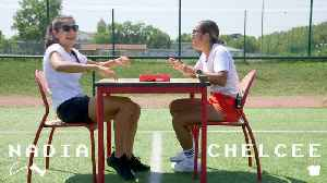 Nadia Nadim talks about training to be a surgeon [Video]