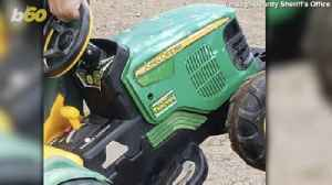 News video: Minnesota Toddler Goes Missing, Takes Joy Ride In Battery Powered John Deere Tractor To County Fair!
