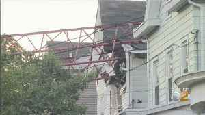 Storm Blamed For NJ Crane Collapse Into Homes [Video]