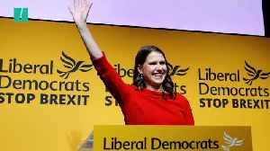 News video: Jo Swinson Is The First Female Leader Of The Liberal Democrats