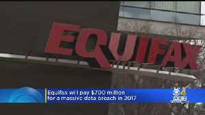News video: Equifax Will Pay $700 Million For Massive Data Breach In 2017