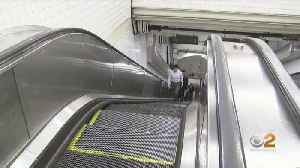 Escalators Down At 53rd St. And Third Avenue Subway Station [Video]