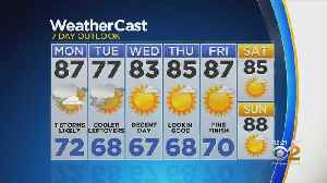 New York Weather: 7/22 Monday Afternoon Forecast [Video]