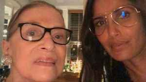 Padma Lakshmi Shares Selfie From Her Meal With Ruth Bader Ginsburg [Video]