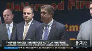 First Responders Head To DC For 9/11 Fund Vote [Video]
