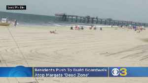 Residents Push To Build Boardwalk Atop Of Margate 'Dead Zone' Between Dunes And Oceanfront Homes [Video]