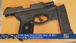 20 People Caught With Guns At BWI So Far This Year [Video]
