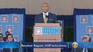 News video: Baseball Report: Rivera, Mussina Highlight Hall Of Fame 2019 Class