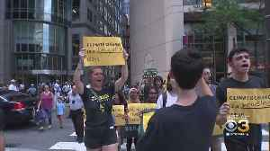 11 People Arrested During Climate Change Protest In Center City [Video]
