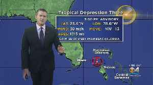 Tropical Depression Number 3 Forms Off Florida Coast [Video]