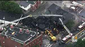 Fire Destroys 8 Businesses In Natick Center [Video]