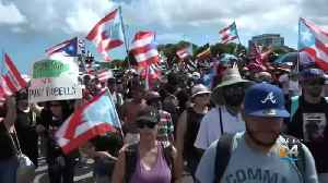 Protesting Continues Over Puerto Rican Governor's Refusal To Resign [Video]