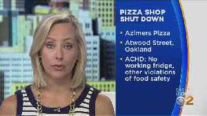 Health Department Shuts Down Pizza Shop [Video]