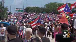 Thousands Calling For Puerto Rico's Governor To Resign [Video]