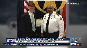 Baltimore top cop robbed at gunpoint near Patterson Park [Video]