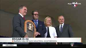 Mariner's legend Edgar Martinez inducted into baseball's Hall of Fame [Video]
