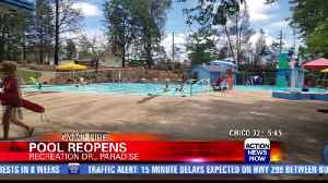 Paradise pool reopens after Camp Fire [Video]