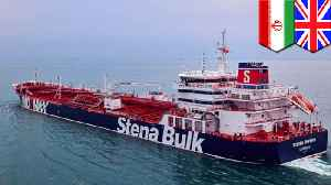 News video: Iran seizes British-flagged oil tanker in the Strait of Hormuz
