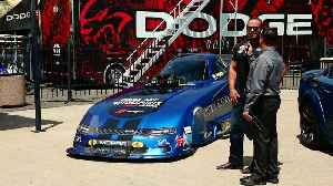 Dodge Charger SRT Hellcat Widebody Funny Car Press Conference [Video]