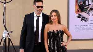 Sofia Vergara and Joe Manganiello 'Once Upon a Time in Hollywood' World Premiere Red Carpet [Video]
