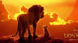 News video: 'The Lion King' felt record-breaking box office love on its huge opening weekend