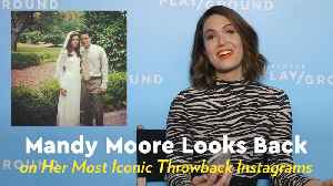 Mandy Moore Looks Back on Filming A Walk to Remember: 'I Completely Fell in Love With Shane' [Video]