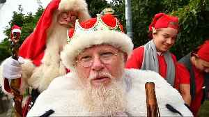 Watch: Lost? More than 150 Father Christmases gather for the World Santa Claus Congress [Video]