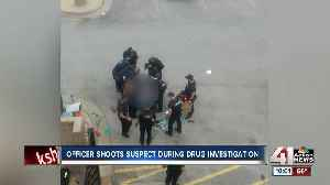 KCPD: Officer shoots armed suspect during drug investigation in downtown KC [Video]