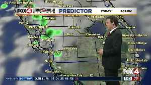 Forecast: A change in our weather pattern today with morning coastal showers expected [Video]