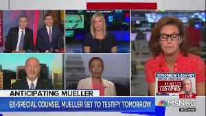 MSNBC Guests Repeat False Claim Fox News Isn't Covering Mueller Hearings [Video]