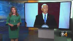 Vice President Mike Pence Attends Fundraisers In Colorado [Video]
