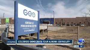 Colorado's congressional Democrats tour Aurora ICE facility, call for changes [Video]