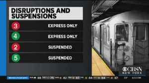 Riders Forced To Walk Through Subway Tunnel [Video]