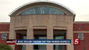 Teen suspects in musician's death displayed aggressive behavior at detention center [Video]