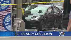 Driver Identified In San Francisco Crash That Killed Tourist, Severely Injured Wife [Video]