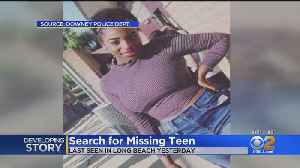 'At Risk' 15-Year-Old Missing From Downey, Last Seen In Long Beach [Video]