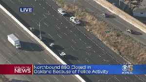 Northbound I-880 Closed In Oakland Due To Police Activity [Video]