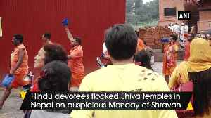 Devotees in Nepal flock to Shiva temples to offer prayers on auspicious Monday [Video]