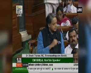 News video: It's an RTI elimination bill, says Shashi Tharoor on Amendment Bill