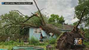 Storms Slam Tri-State Area [Video]